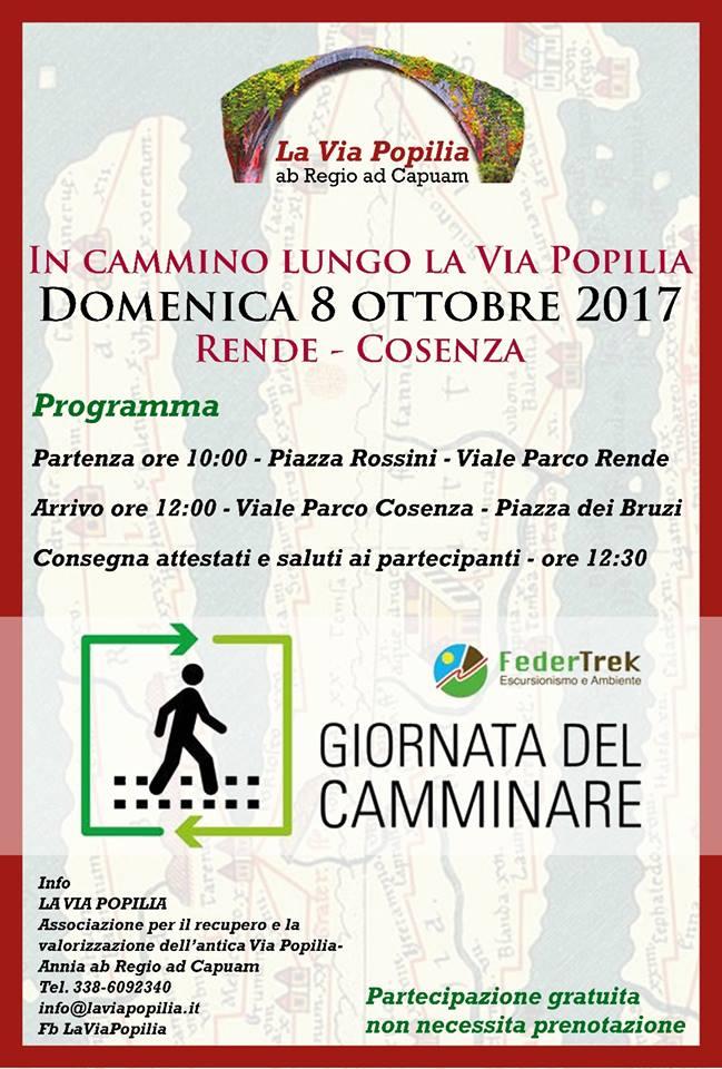 Giornata del Camminare Federtrek Cosenza- Rende